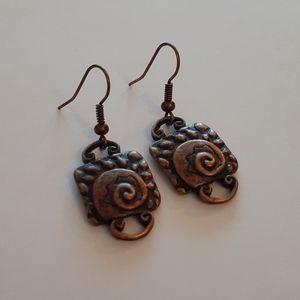 Copper Earrings
